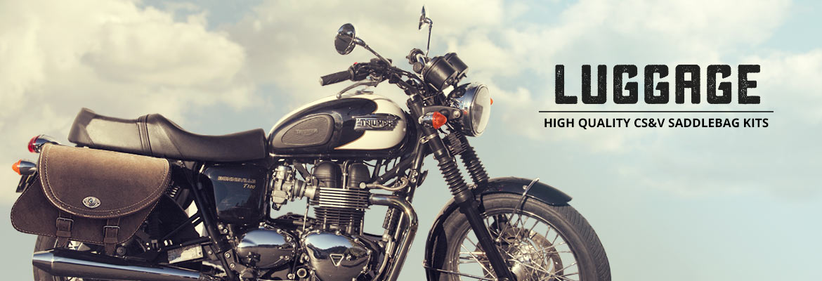 Triump Motorcycles - High Quality CS&V Saddlebag Kits